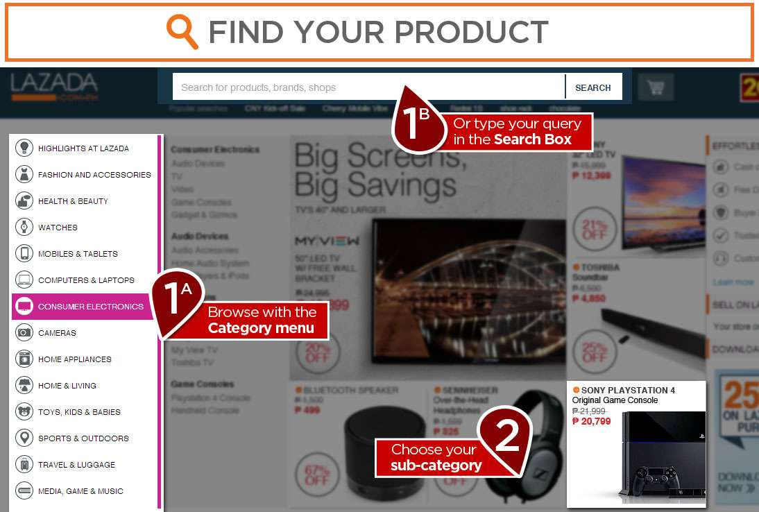 Lazada Buying Guide How To Shop Online At Lazada Philippines Effortless  Shopping! Lazada Buying Guide