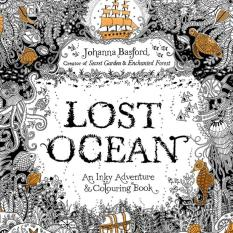 PHP 400 1PCS Lost Ocean 2016 New Secret Garden An Inky Treasure Hunt And Coloring Book For Children Adult Relieve Stress Kill Time Graffiti Painting