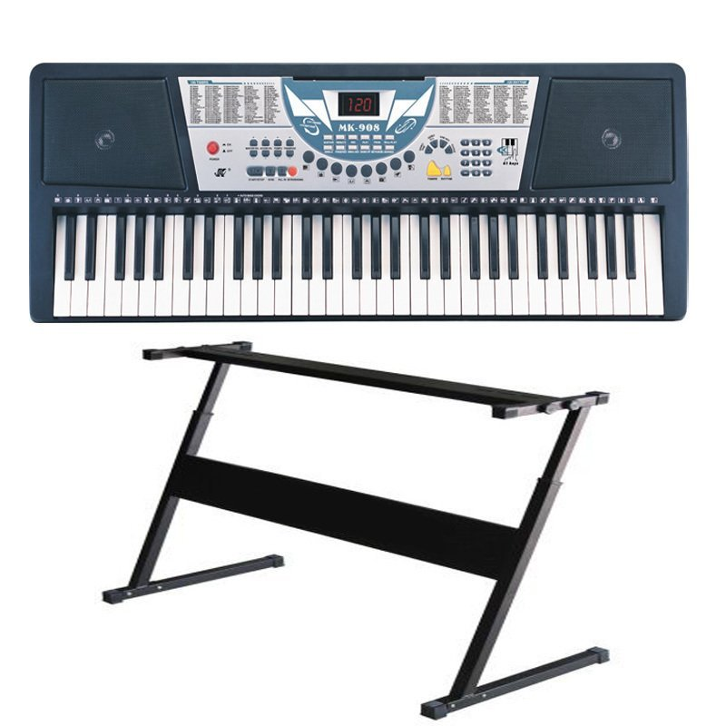 Yamaha psr e353 keyboard with double x stand and sustain for Yamaha digital piano philippines