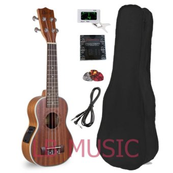 Davis Soprano with pickup and tuner Mahogany Ukulele Ukelele(Natural)