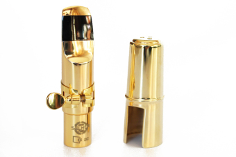 High Quality Eb Metal Golden Alto Saxophone Mouthpiece Sax Accessories