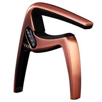 K8 Electric Acoustic Quick Change Tune Guitar Capo Clamp (Bronze) - intl