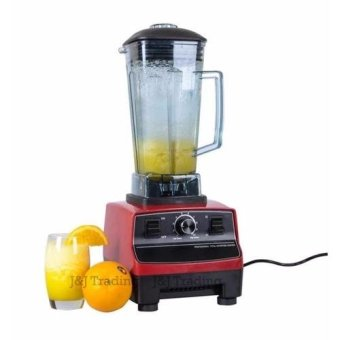 2L Commercial 3HP Blender Mixer HEAVY DUTY Ice Crusher 2200W (Red)