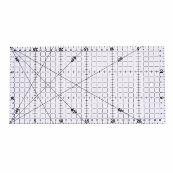 30cm Diy Sewing Patchwork Foot Aligned Ruler Quilting Grid CuttingTailor Craft - intl
