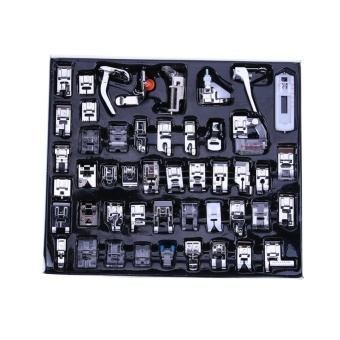 48pcs Multi-function Domestic Household Sewing Machine Presser Foot Feet - intl