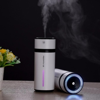 Air Humidifier Home Office Car USB Portable Colorful Night Light Mute Aromatic Machine(Black/Blue/Green/Pink)M1