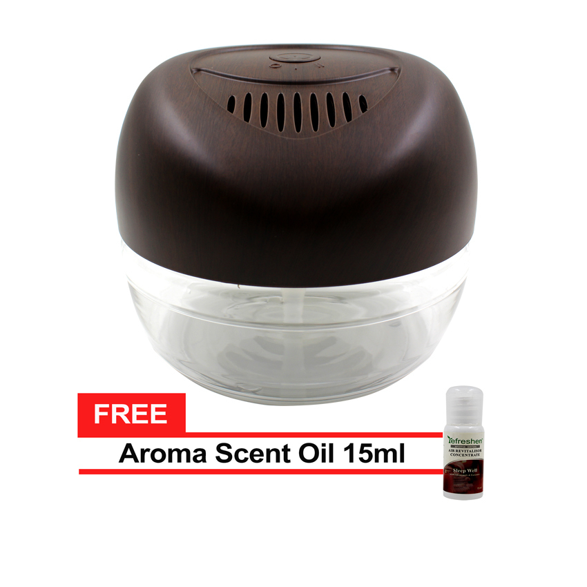 Air Revitalizer Scents ~ Humidifier scent starter kits aroma series set white