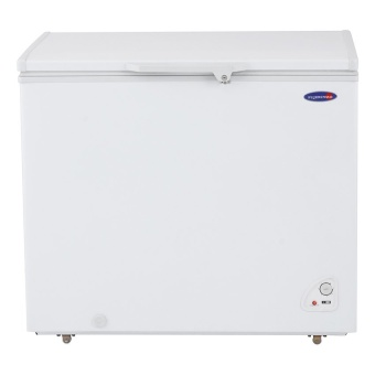 Fujidenzo Fc-08 Adf 8 Cu.Ft Solid Top Chest Freezers (White)