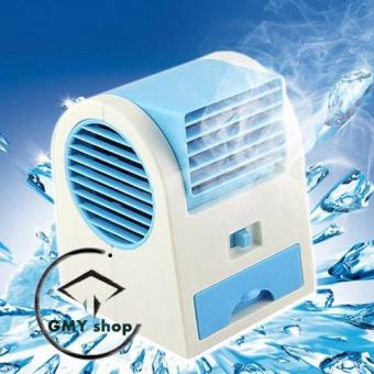 GMY USB Mini Air Conditioning Fan Cooler (Blue)