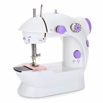 J&A Mini Portable J&A Double Speed Automatic Thread Sewing Machine