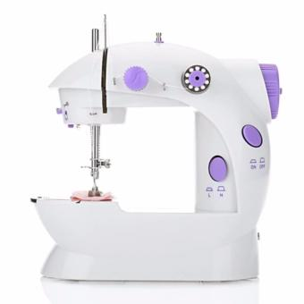 Mini Sewing Machine Double Speed Automatic Thread with Light EU PLUG