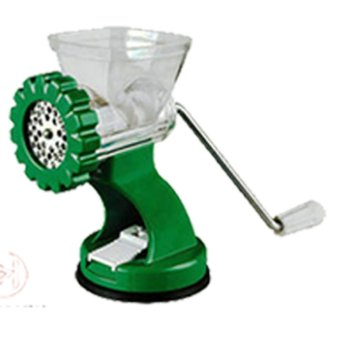 Multifunctional Stainless Steel Meat Grinder Hand Stand Mixer CrankSausage Stuffer Pasta Maker XHISF - intl