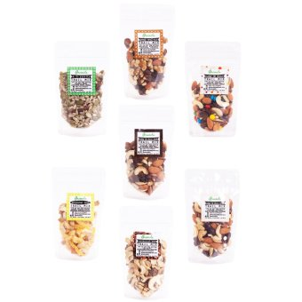 Greenola Super Trail Mix Set of 7