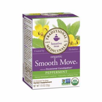 Traditional Medicinals Smooth Move Peppermint 16 Tea Bags