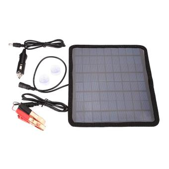 18V 5.5W Solar Panel Car Automobile Battery Power Charger Backup Outdoor Camping