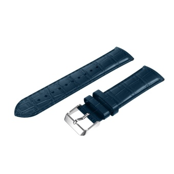 22mm Leather Strap Replacement Watch Band Wrist Strap for SamsungGear S3 BU - intl