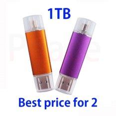 PHP 1.880. 2PCS OTG USB Stick 1TB Mobile Pen USB Flash Drive Drive Micro USB SmartPhone Pendrive OTG Smart Phone U Disk ...