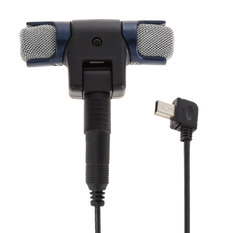 3.5mm Stereo Condenser Microphone for GoPro Hero 3 3+ 4 Mic Cable Adapter (Intl)