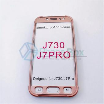360 Case for Samsung Galaxy J7 Pro (rose gold)