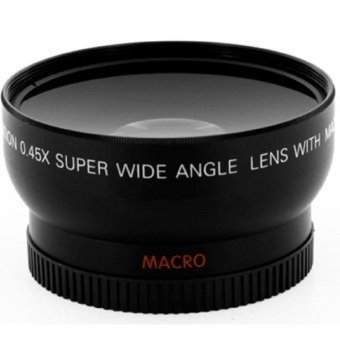 58mm Wide Angle Lens Converter