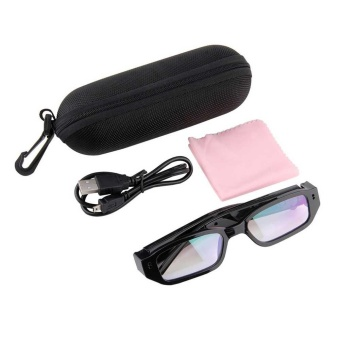 720P HD hidden spy mini Camera Sun Glasses Digital Video recorder Eye wear DVR - intl