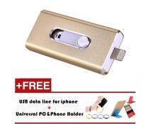 8GB i-Easy Drive 3 in 1 smart phone Otg Storage disk Usb Flash Drive