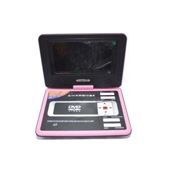 9 5 portable dvd player pink lazada ph. Black Bedroom Furniture Sets. Home Design Ideas