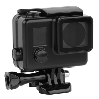 Accessories for GoPro Waterproof Housing Case for GoPro Hero 4 /3+(Black)