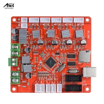 Anet A1284-Base Control Board Mother Board Mainboard for Anet A6DIY Self Assembly 3D Desktop Printer RepRap i3 Kit