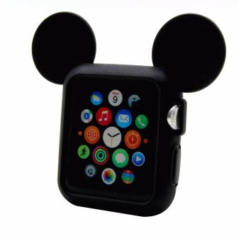 Apple Essentials Mickey Rubber Case for Apple Watch 38mm (Black)