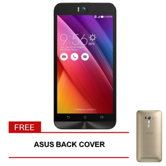 Asus ZenFone Selfie 32GB (White) with FREE Back Cover (Gold)