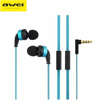 Awei ES13i In-Ear Earphone Noise Isolation (Blue)