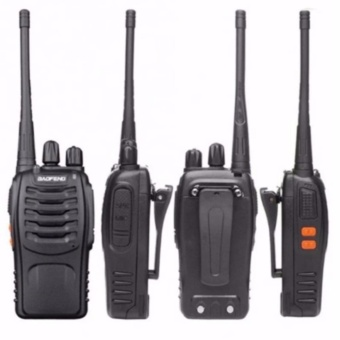 BaoFeng BF-888s UHF Transceiver Two-Way Radio Walkie-talkie Set of 2 with free Micro USB OTG USB Connector For Your Smart Phone/Pad (color may vary)