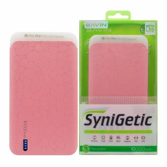 Bavin PC175 10000mAh Slim Power Bank (Pink)