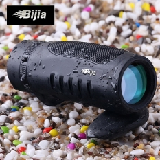 BIJIA 7.6 x 32 Roof BAK4 Prism Single-tube Night Vision Telescope 126m / 1000m Binocular (Black)