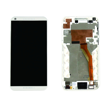 Bluesky LCD Display For HTC Desire 816 816W D816x Touch Screen with Digitizer Assembly + Bezel Frame + Tools White - Intl