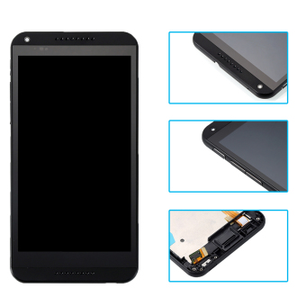 Bluesky LCD Display For HTC Desire 816 816W D816x Touch Screen withDigitizer Assembly + Bezel Frame + Tools Black - Intl