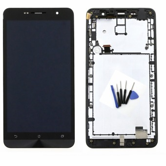 Bluesky New Replacement LCD Display + Touch Screen with Bezel Frame + tools for ASUS Zenfone 6 A600CG T00G Black replacement part - Intl
