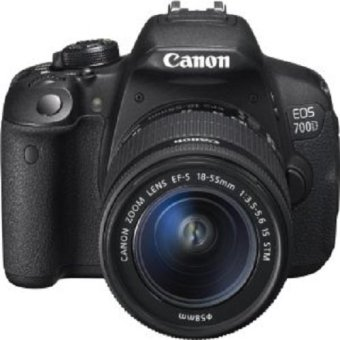 Canon EOS 700D Kit with EF-S 18-55mm f/3.5-5.6 IS STM