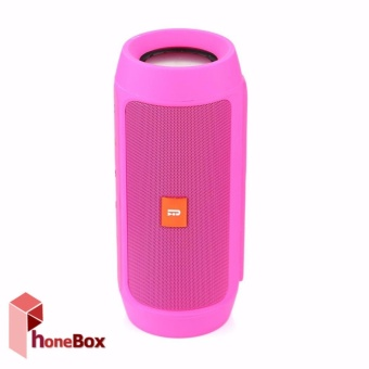 Charge2+ Splashproof Portable Wireless Bluetooth Speaker (pink)