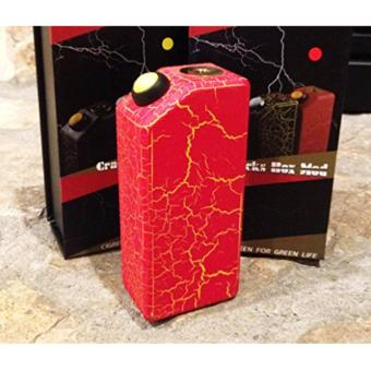 cigreen crack box mod (mod only) red/yellow