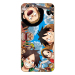 Classic oppoa59s/a37m anime cartoon lanyard phone case soft cover