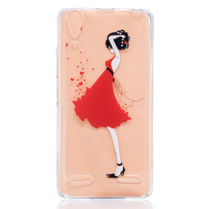 ... Cover For Huawei Y5ii Y5 Ii Honor 5 Fashion Girl Intl. PHP 296 Embossed Pattern TPU Gel Cell Phone Case for Lenovo A6000 Fashion Girl