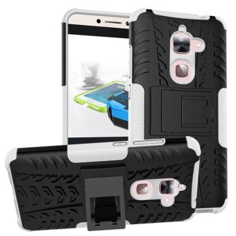 Fashion Heavy Duty Shockproof Dual Layer Hybrid Armor ProtectiveCover with Kickstand Case for Letv Le 2 X626 - intl