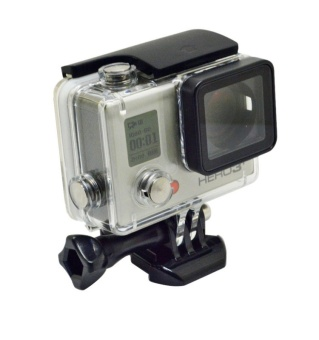 For Go pro accessories waterproof bag diving case for hero 4 new 30M waterproof housing case for Go Pro Hero 4 3+ with bracke - intl