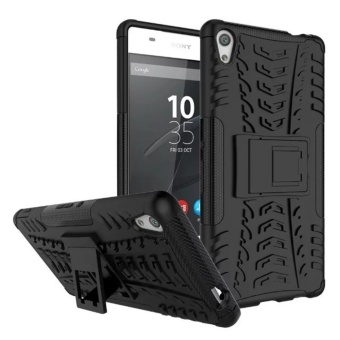 For Sony Xperia XA Ultra Armor Case Heavy Duty Rugged Dual Layer Shockproof Protection Cover For Sony XA Ultra F3212 F3216 Case - intl