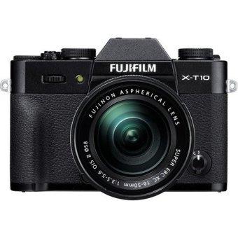 Fujifilm 16.3 MP X-T10 Mirrorless Digital Camera with 16-50mm Lens (Black)