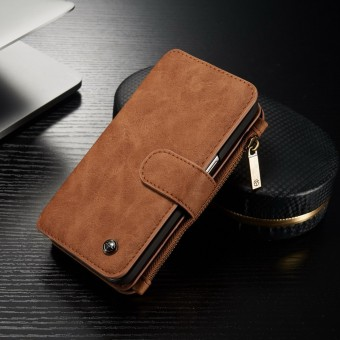 Genuine Flip Leather Removable Wallet Case Cover Stand For Samsung S7/S7 Edge