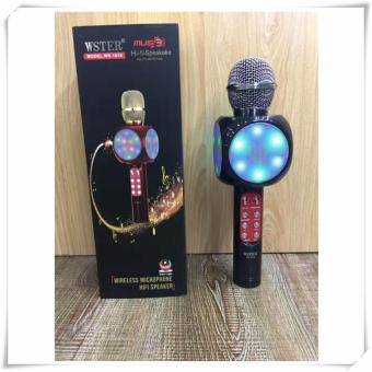 GS Wster WS-1816 Karaoke KTV MIC Portable Bluetooth Speaker Microphone