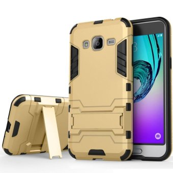 Heavy Duty Dual Layer Drop Protection Shockproof Armor Hybrid SteelStyle Protective Cover Case with Self Stand for Samsung Galaxy A72015 - intl